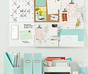 study, organization, and desk image