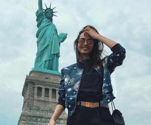 fashion, girl, and new york image
