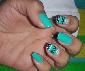 colors, nails, and nailsart image