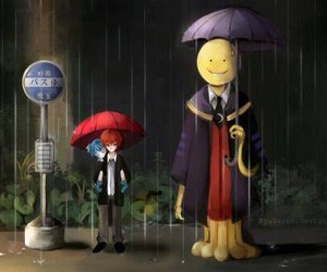 assassination classroom, nagisa, and anime image