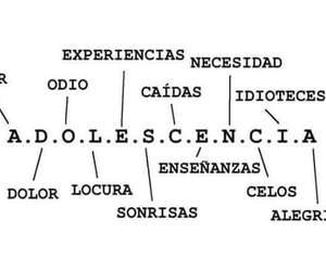 amor, adolescencia, and frases image