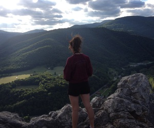 hiking, nature, and summer image