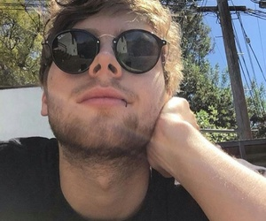 5sos, lip ring, and sunglasses image