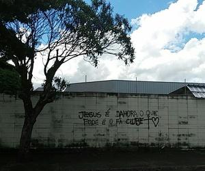 jesus, muro, and pixação image