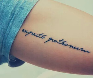always, hogwarts, and tatto image