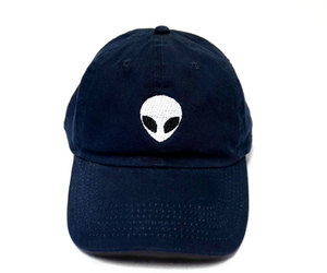 alien, baseball hat, and embroidery image