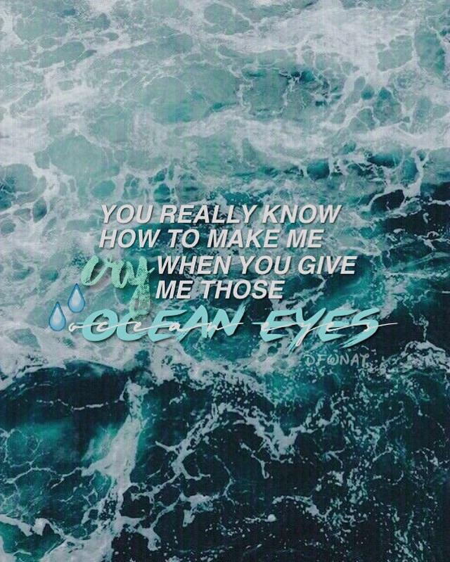 Ocean Eyes Billie Eilish Instagram Dfwnat