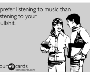 funny, quote, and music image