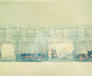 jar, tea, and vintage image