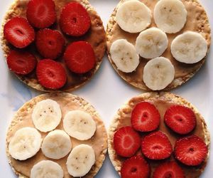 food, fitness, and peanut butter image
