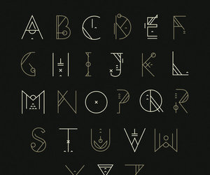 alphabet, art, and shoelesspeacock image