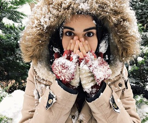 cold, girl, and islam image
