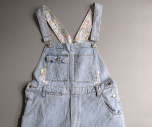 90s, fashion, and overalls image
