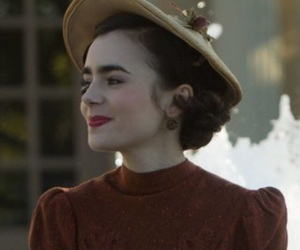 actress, lily collins, and beauty image