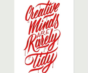 creative, tidy, and minds image