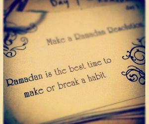 Ramadan, habits, and break image