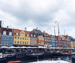 travel, city, and copenhagen image