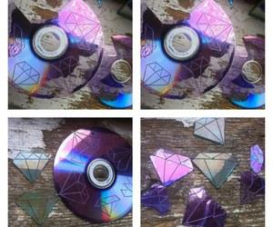 diy, cd, and diamond image