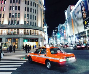 japan, tokyo, and taxi image