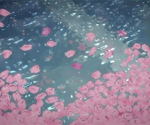 gif, flowers, and anime image