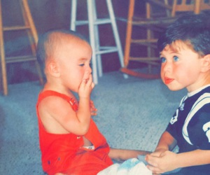 baby and nash grier image