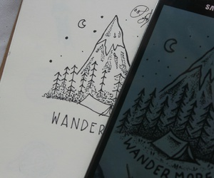 art, camp, and doodle image