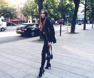 blogger, fashion, and long hair image