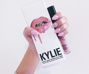 fashion, makeup, and kylie image
