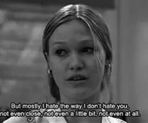 love, hate, and 10 things i hate about you image