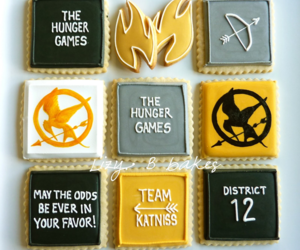 the hunger games, hunger games, and Cookies image