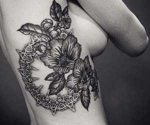 tattoo, black, and ink image