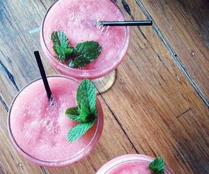 drink, pink, and rose image