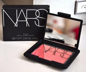 nars, makeup, and pink image