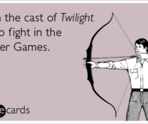 twilight, hunger games, and the hunger games image