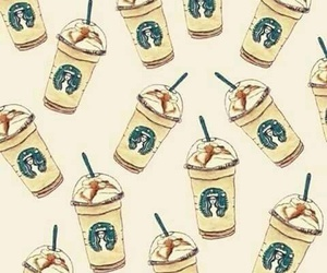 addicted, drink, and starbucks image