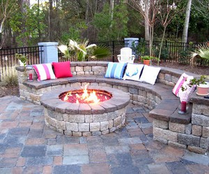 idea and fire pit image