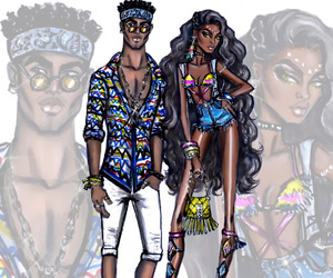 hayden williams, coachella, and fashion image