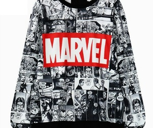 Marvel, comic, and sweater image