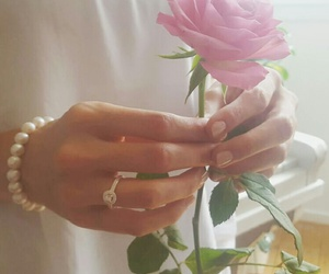 birthday, ring, and rose image