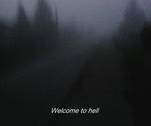 hell, grunge, and dark image