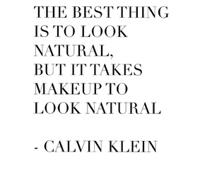 beauty, Calvin Klein, and quotes image