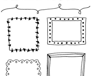 doodle and frame image