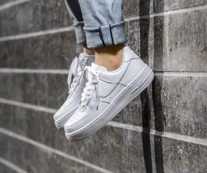 casual and nike airforce 1 image