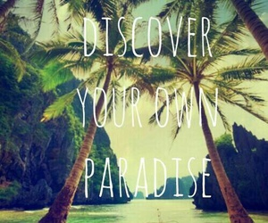 beach, discover, and nice image