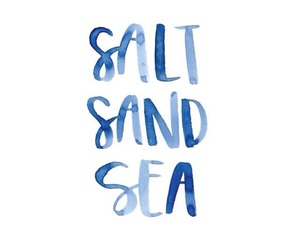 quotes, sea, and blue image