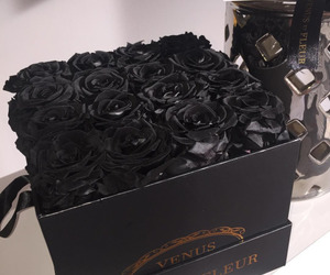 beautiful, black, and beauty image