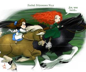 disney, pocket princesses, and princess image
