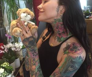 tattoo, girl, and tumblr image