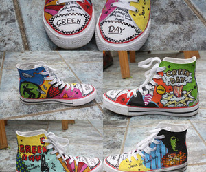 green day and shoes image