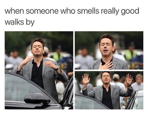 funny, smell, and lol image